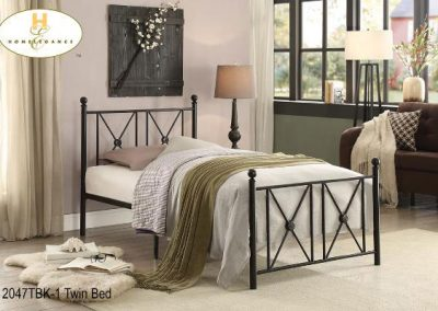 2047TBK-1 twin bed mazin
