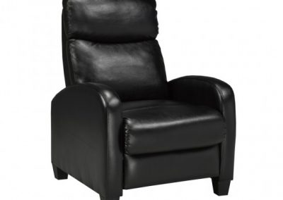 SOHO RECLINER BLACK brassex
