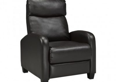 SOHO RECLINER BROWN brassex