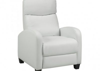 SOHO RECLINER WHITE brassex