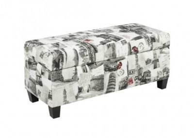 2006S-CT STORAGE OTTO CITY FABRIC brassex