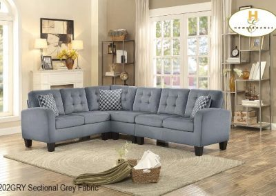 8202GRY sectional mazin