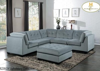 8226GY sectional mazin