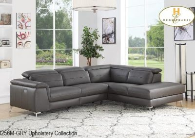8256GRY sectional mazin